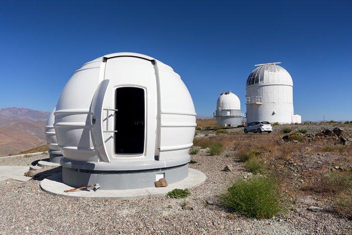 Die ExTrA-Teleskope auf La Silla