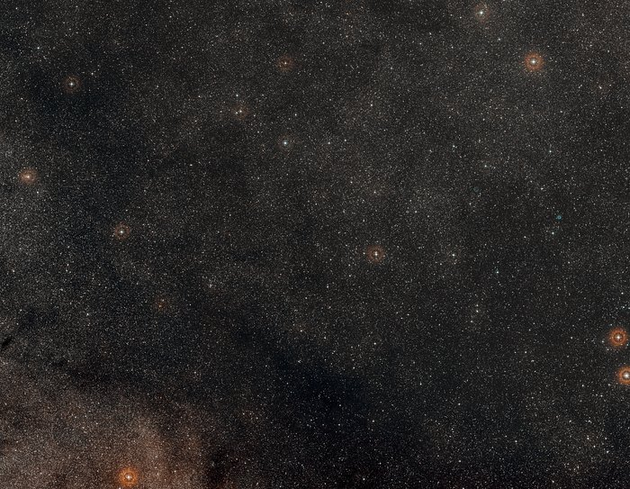 Image de la périphérie d'Apep issue du Digitized Sky Survey