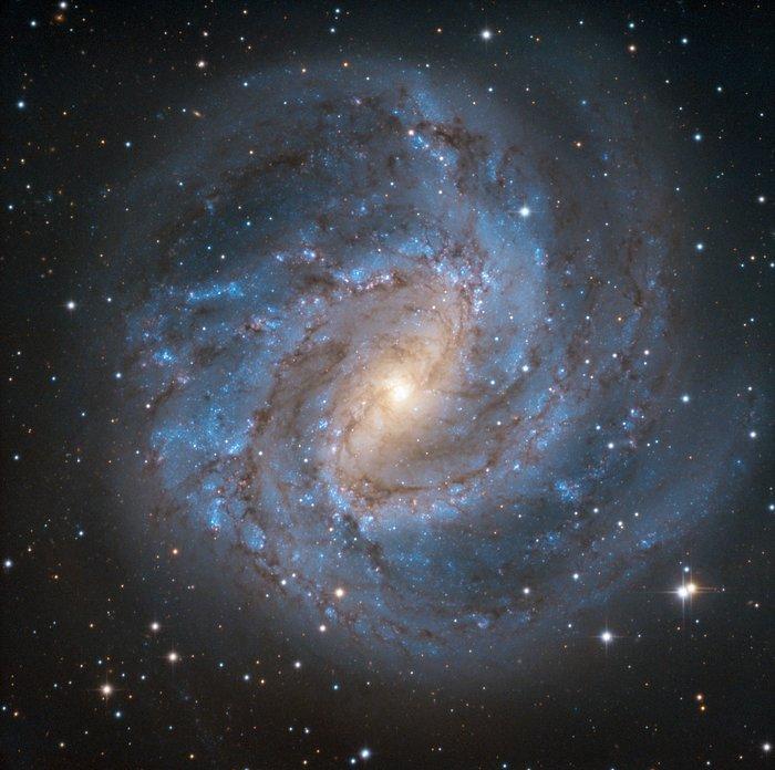Første lys for SPECULOOS Southern Observatorys Europa-teleskop