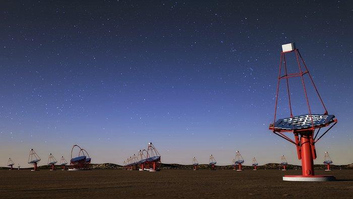 Telescopi di medie dimensioni del CTA