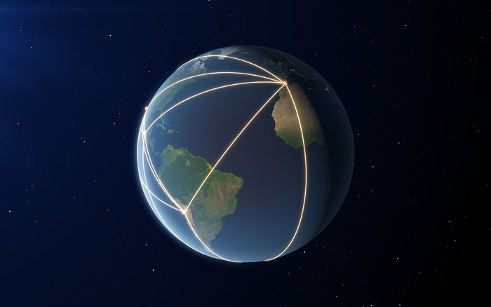 O EHT, uma rede em escala planetária