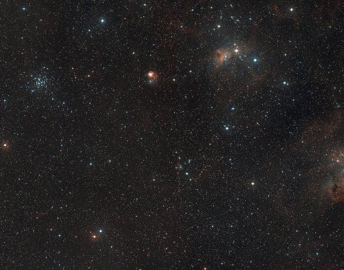 Широкоугольный снимок окрестностей AFGL 5142