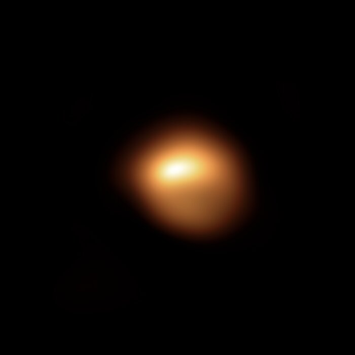 SPHERE-opname van Betelgeuze in december 2019