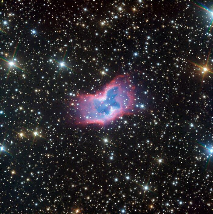 New ESO's VLT image of the NGC 2899 planetary nebula