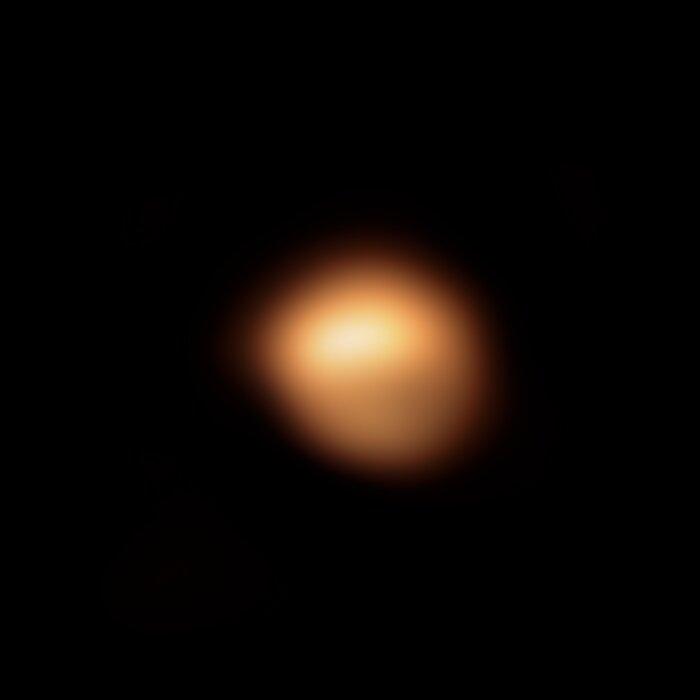 Image of Betelgeuse's surface taken in December 2019