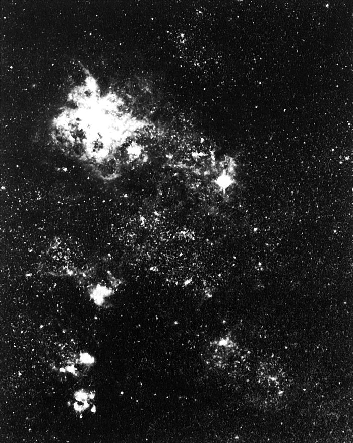 Supernova 1987A and the Tarantula Nebula