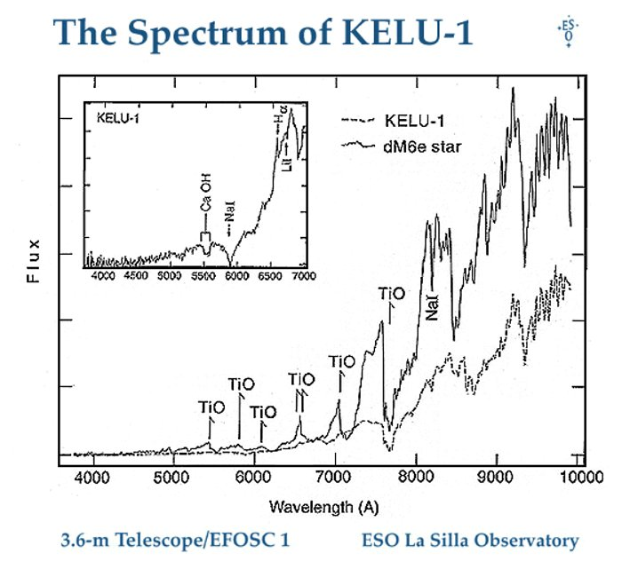 The Spectrum of the Brown Dwarf KELU-1