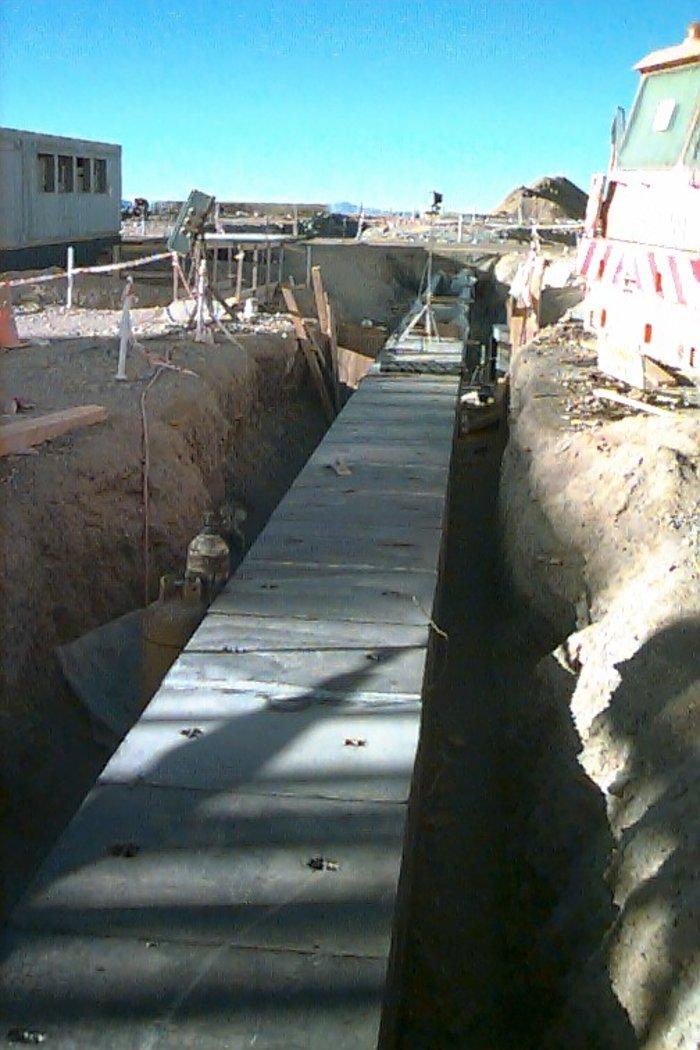 The Light Beam Tunnel for UT2