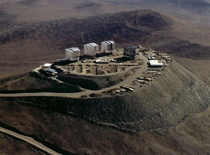 Southern view of the Paranal platform