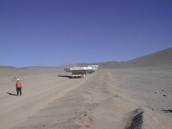 In the Atacama Desert