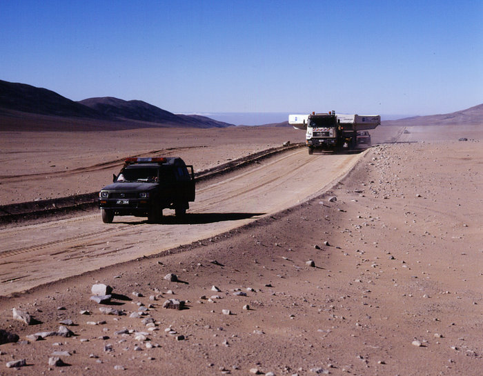On the desert road