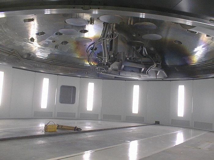 Preparativi per la prima luce dell'UT1 del VLT