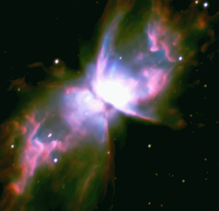 Fine Structure in NGC 6302