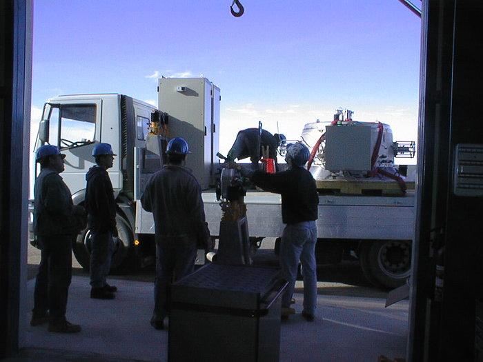 ISAAC Mounted on VLT UT1