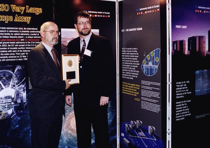 ESO VLT Wins US Technology Prize