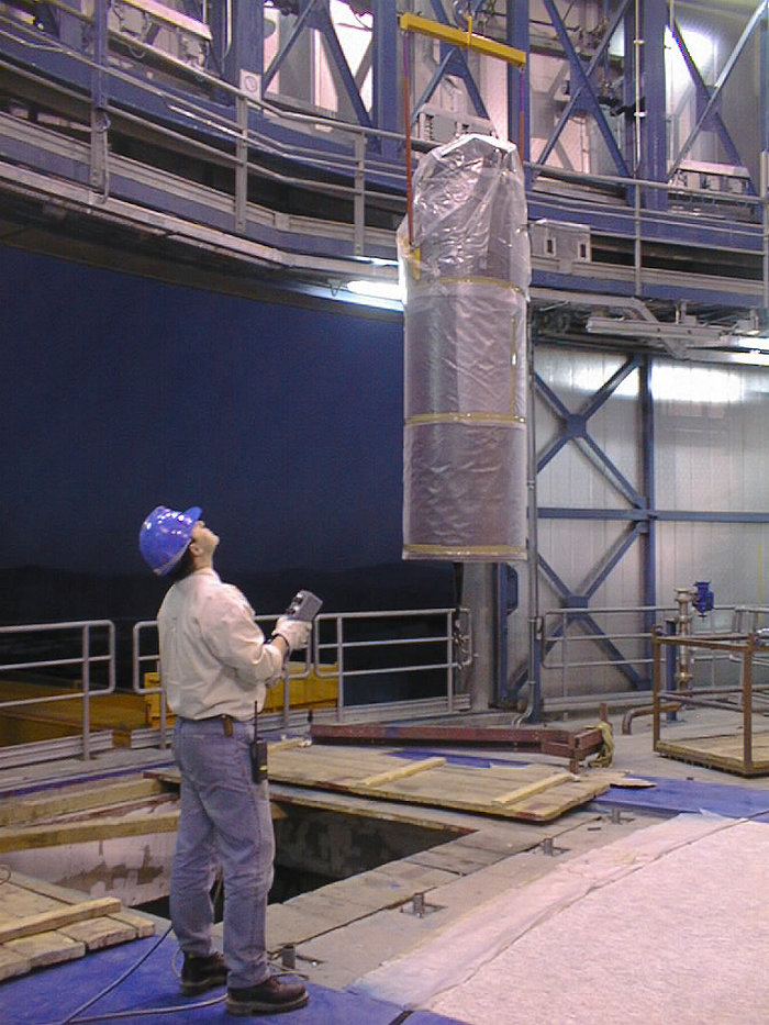 Installation Work on VLT UT2