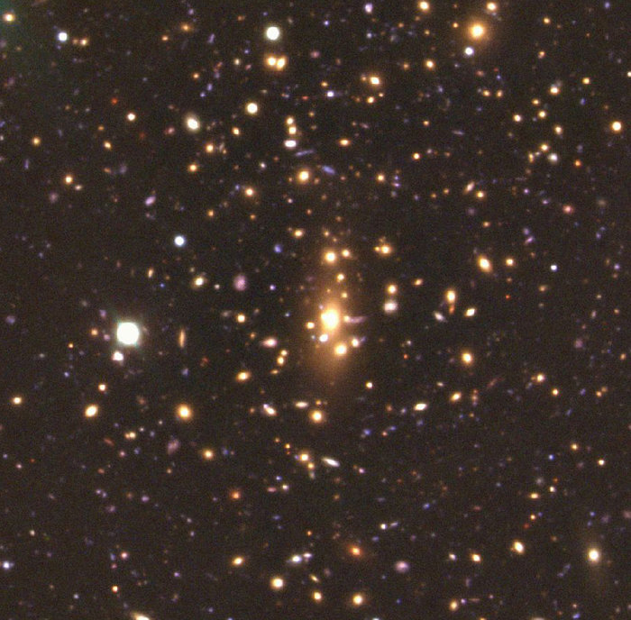 Centre of galaxy cluster MS1008.1-1224