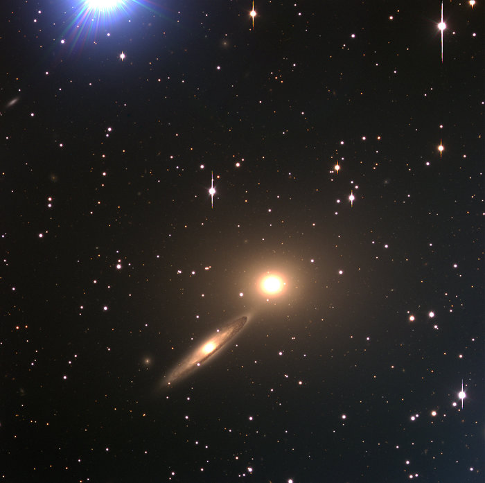 Galaxy Pair NGC 5090 and NGC 5091