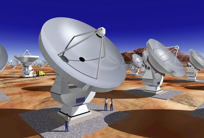 Artist's Impression of ALMA