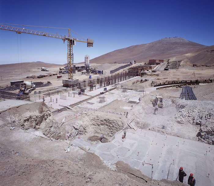 Paranal Residencia Under Construction