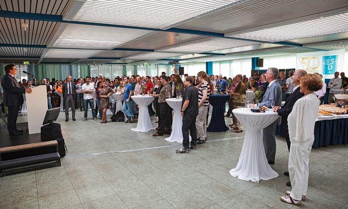 ESO's 50th anniversary staff party