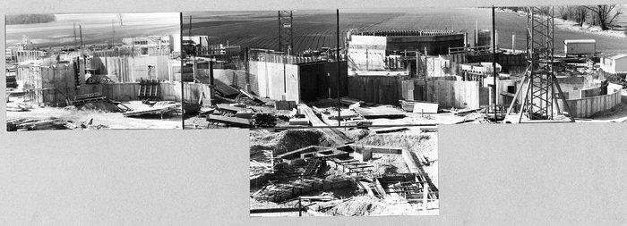 Construction of ESO Headquarters