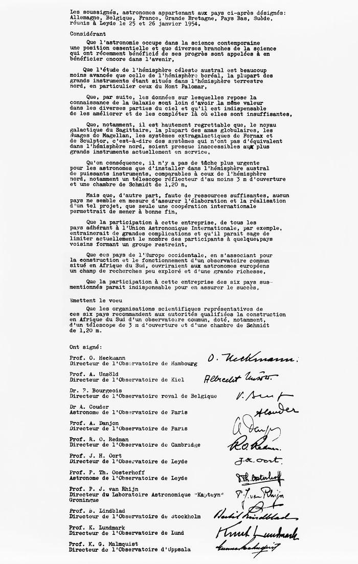 The Leiden Declaration