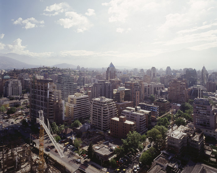 Santiago de Chile: view towards the centre