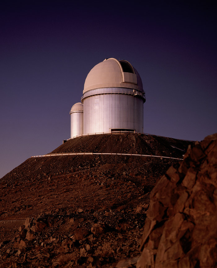 ESO 3.6-metre telescope – the dome