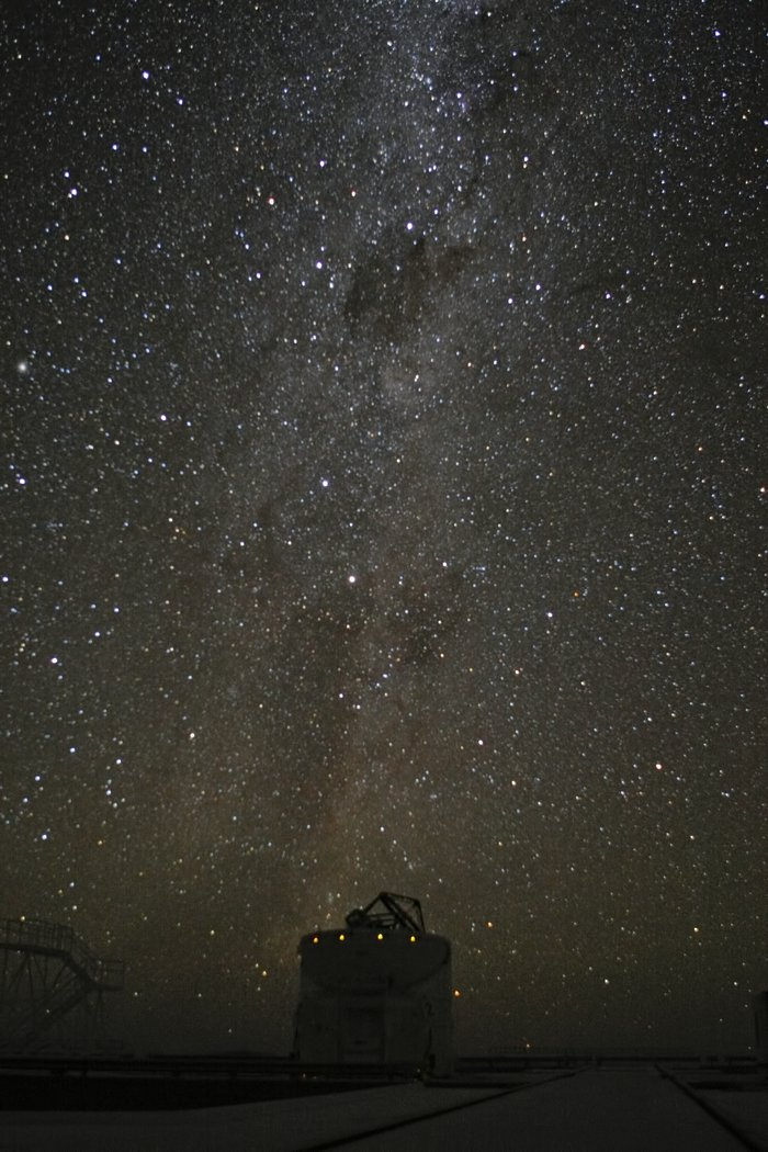 Milky Way above Paranal observatory