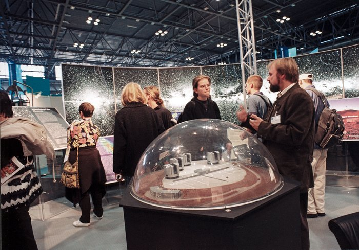 VLT at Forschungsforum 97 fair