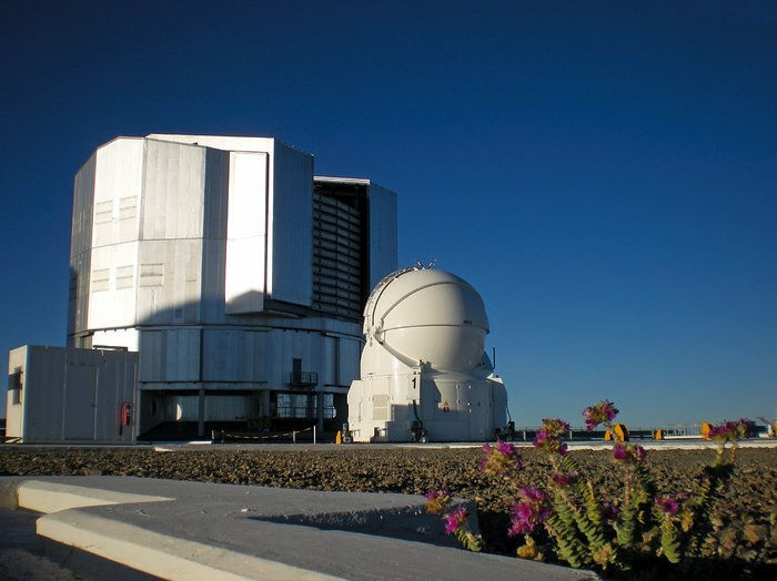 Unit Telescope and Auxiliary fellow