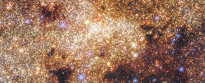 HAWK-I view of the Milky Way's central region (close-up)
