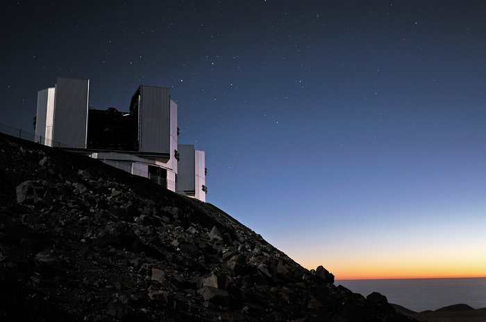 Twilight at Paranal