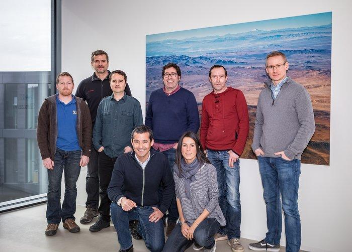 Members of the ELT AIV Team
