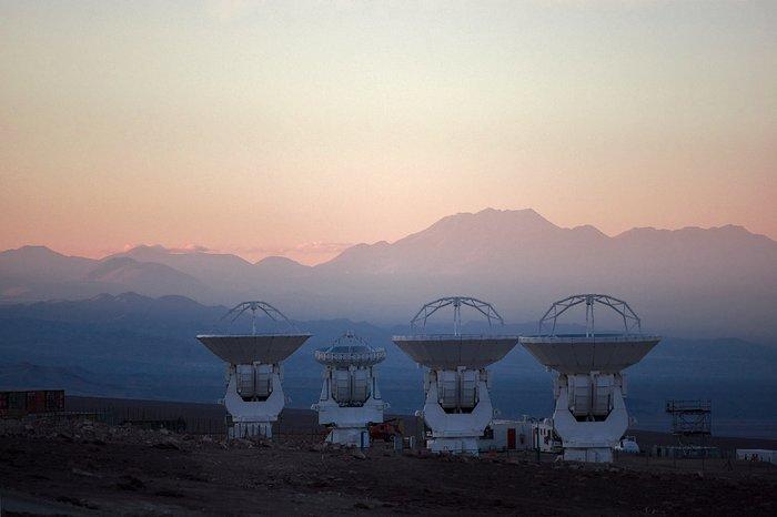 ALMA antennas at OSF*