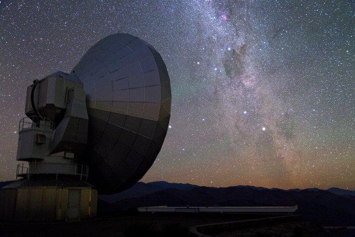 Die Milchstraße und Nova Centauri 2013