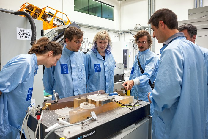 art&science@ESO Residency Award winners Quadrature make a visit