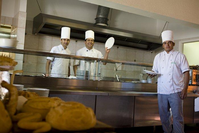 Kitchen in La Silla