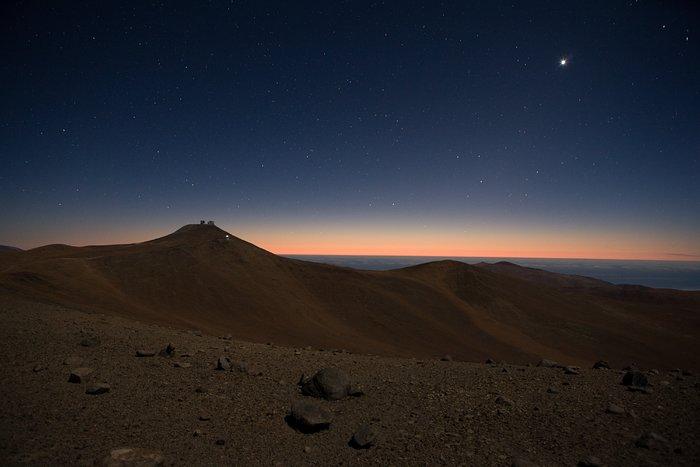 Paranal Observatory Under Moonlight *