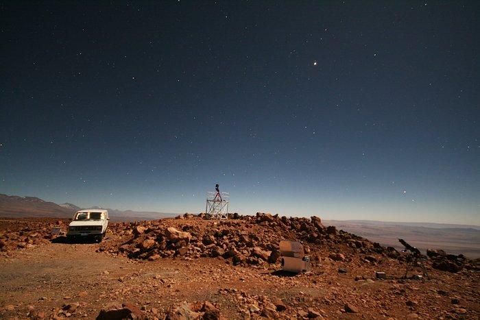 ELT site testing — Cerro Tolonchar / Chile