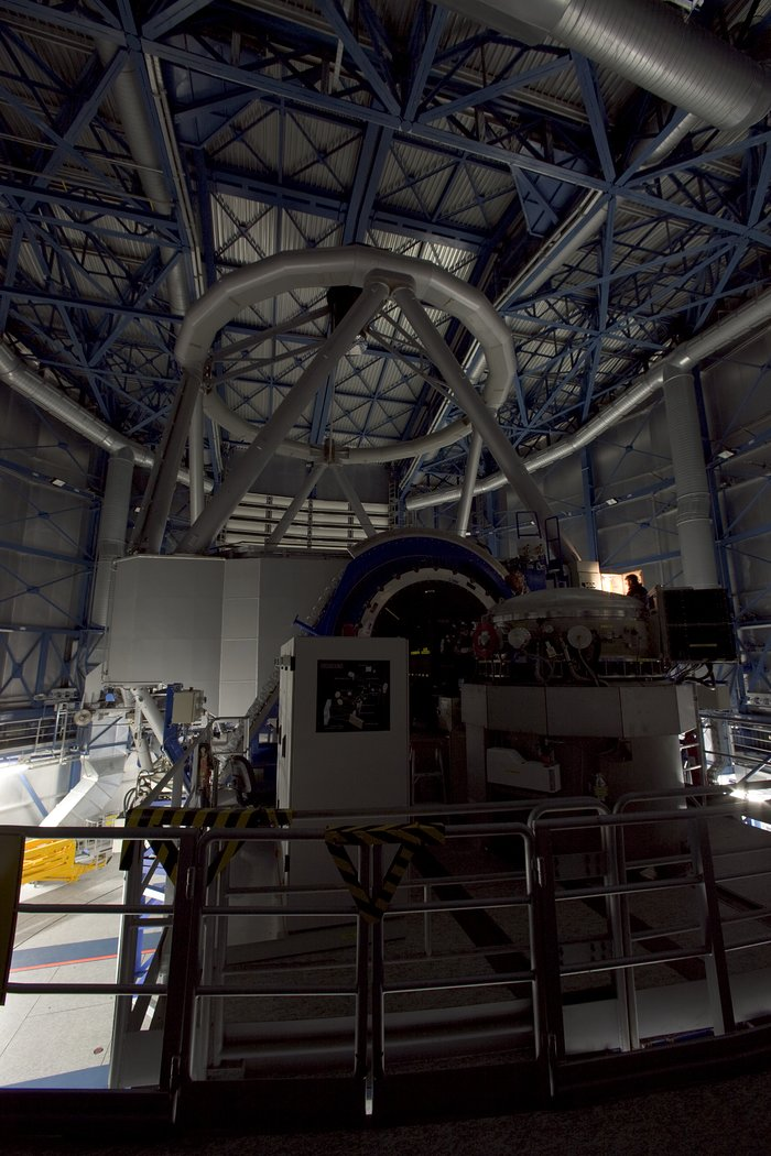 Daytime operation of a VLT, Jan 2007