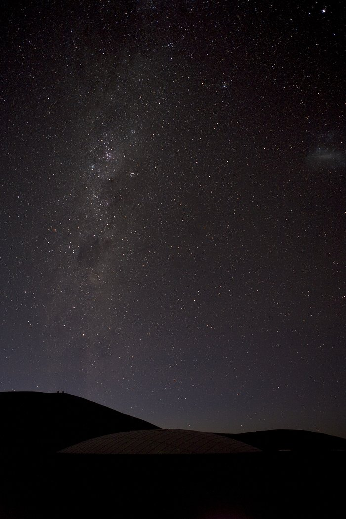 Milky Way over Paranal