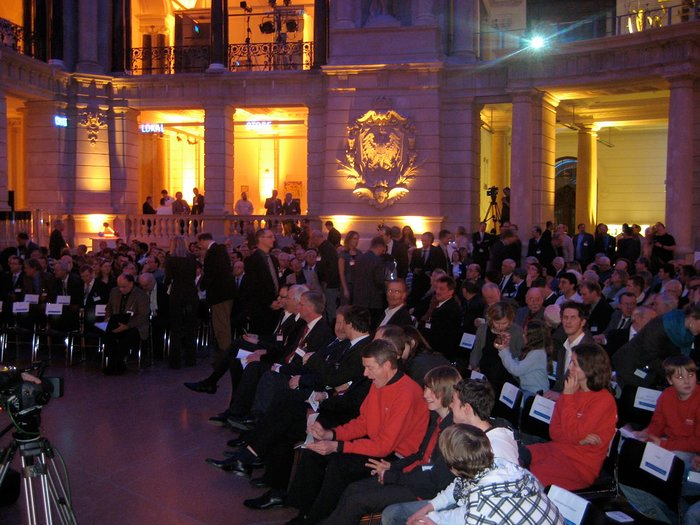 Grand Opening of IYA2009 in Berlin