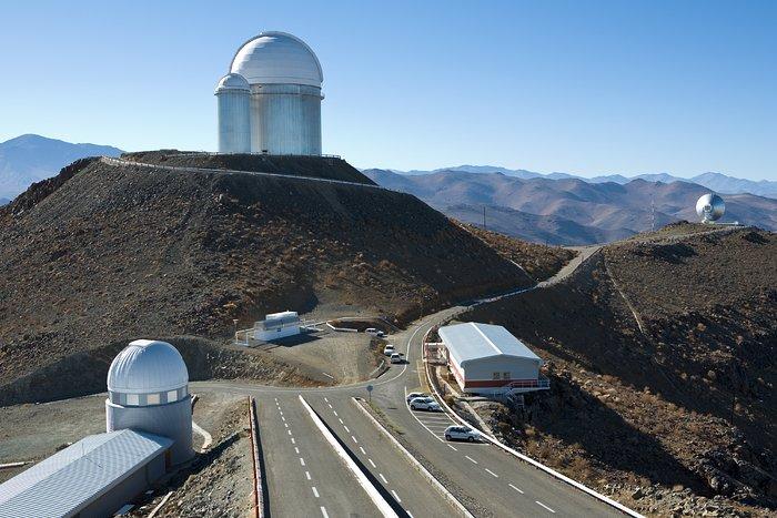 Road to La Silla