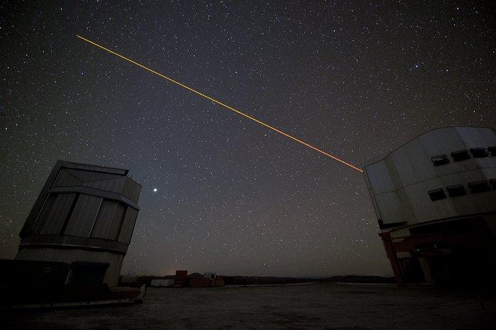 Telescopes in use