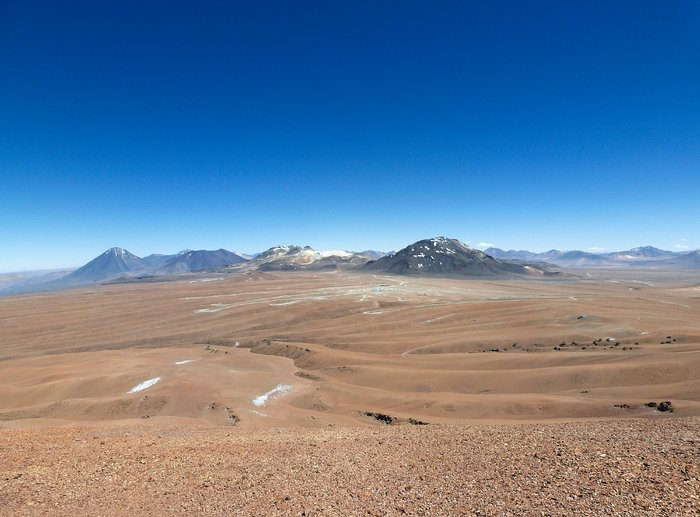 The Chajnantor Plateau and ALMA