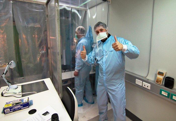 Paranal cleanroom