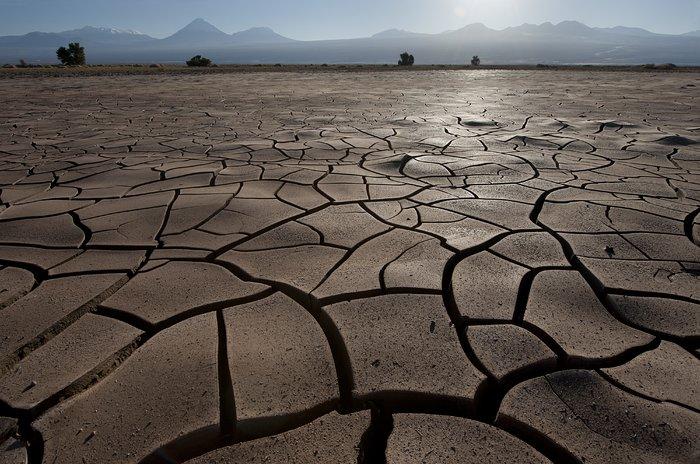 Dry as a desert