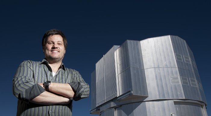 Andreas Kaufer at Paranal